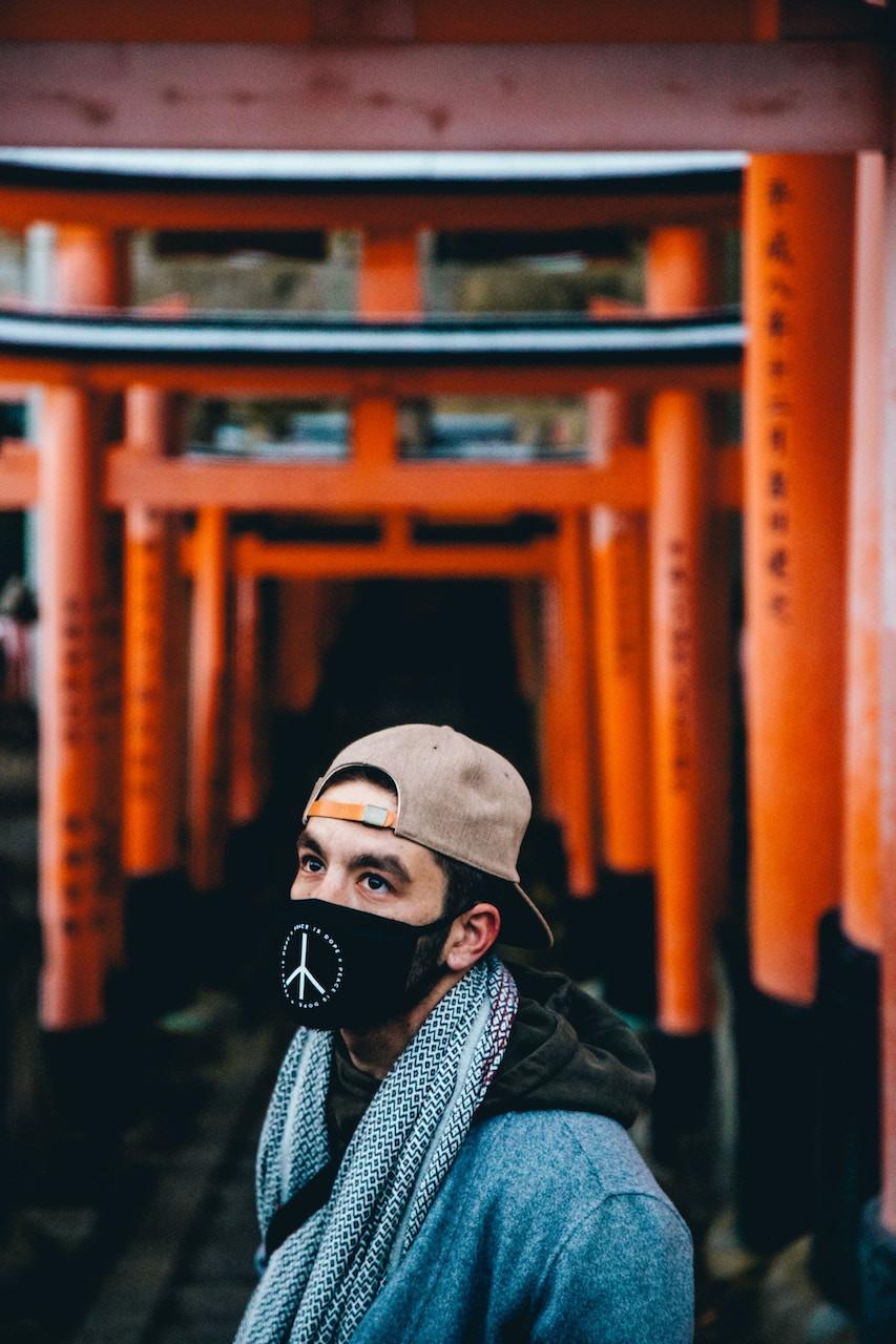 La moda delle mascherine in Giappone