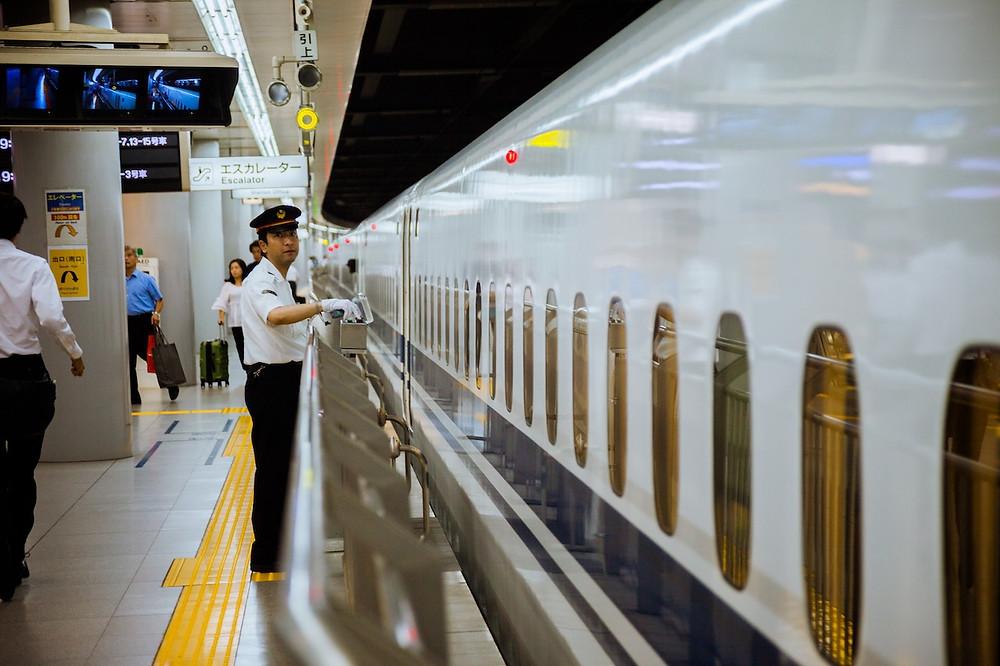 Controllore in Giappone