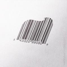 Dollop Cream Vanity Barcode