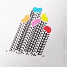 Jellybeans Vanity Barcode