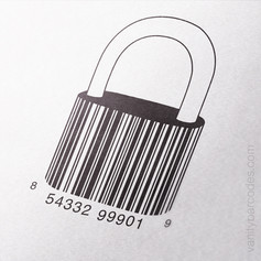 Padlock Vanity Barcode