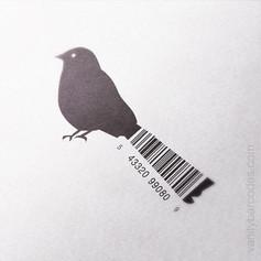 Bird Vanity Barcode