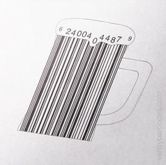 Beer Mug Vanity Barcode