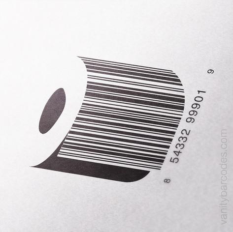 Toilet Paper Roll Vanity Barcode