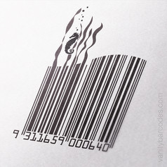 Seahorse Themed Vanity Barcode 04