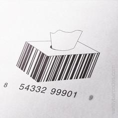 Tissue Box Vanity Barcode 2
