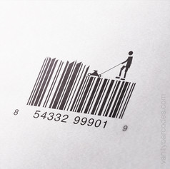 Lawnmower Vanity Barcode