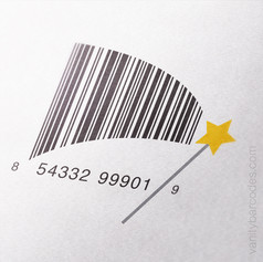 Magic Wand Vanity Barcode