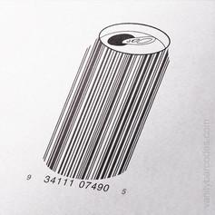 Soda Beer Can Vanity Barcode