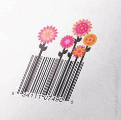 Flower Garden Vanity Barcode