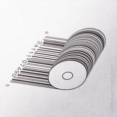 Paper Roll Vanity Barcode