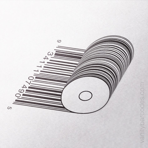Paper Roll Vanity Barcode