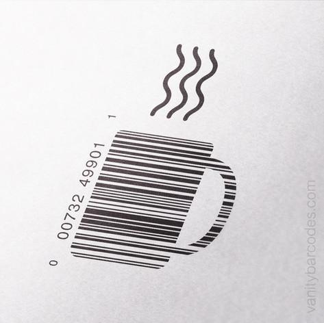 Coffee Mug Vanity Barcode