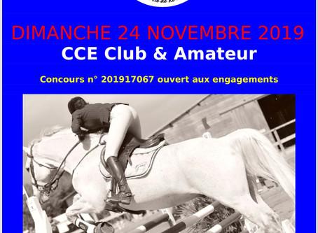 CCE Club & Amateur