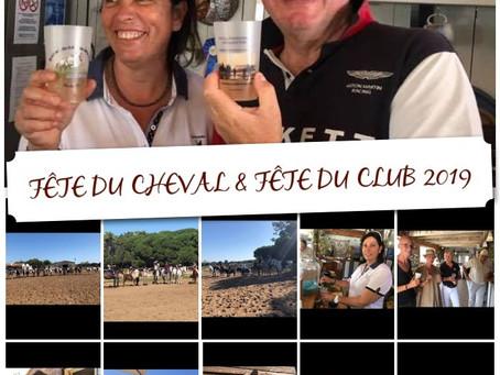 FÊTE DU CHEVAL & FÊTE DU CLUB 2019