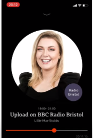 Interview with Lillie Mae on BBC Upload!