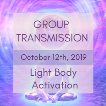 Light Body Activation Group Transmission | Jelelle and Raphael Awen
