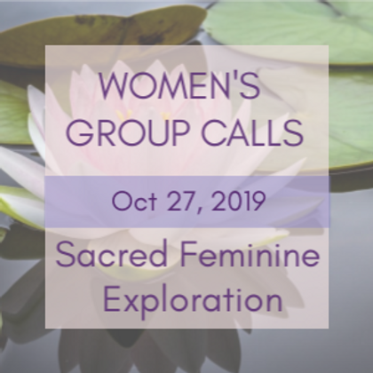 Healing Your Inner Masculine Women's Group Call | Jelelle Awen