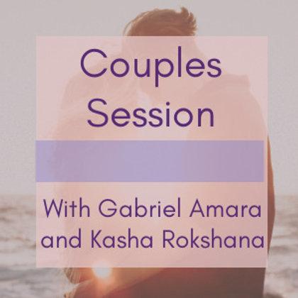 Couples Session w/Gabriel Amara & Kasha Rokshana