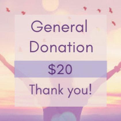 SoulFullHeart Experience General Donation