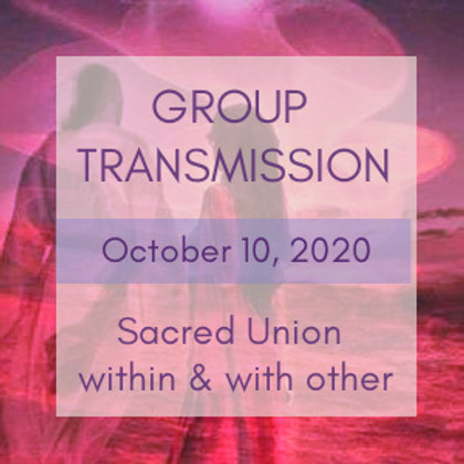 Inner/Outer Sacred Union Group Transmission Call | Raphael & Jelelle Awen