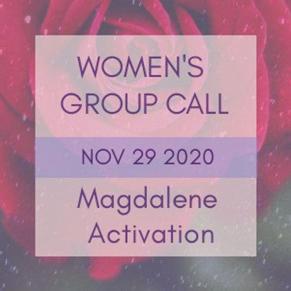 Magdalene Activation Women's Group Call | Jelelle Awen & Kasha Rokshana