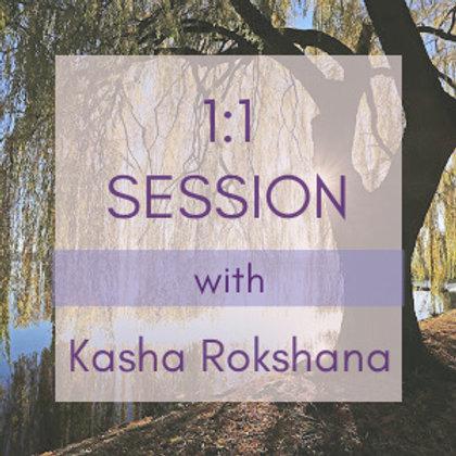 Session w/Kasha Rokshana