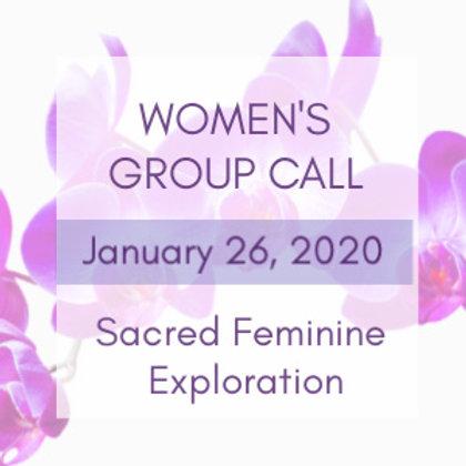 Navigating Relationships Women's Group Call | Jelelle Awen