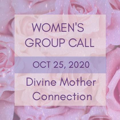Divine Mother Connection Women's Group Call | Jelelle Awen & Kasha Rokshana