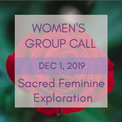 Divine Mother Connection Women's Group Call | Jelelle Awen