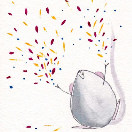 Confetti Mouse