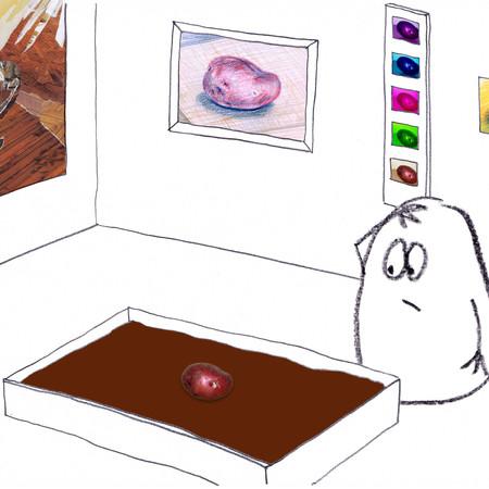 Spud in Gallery