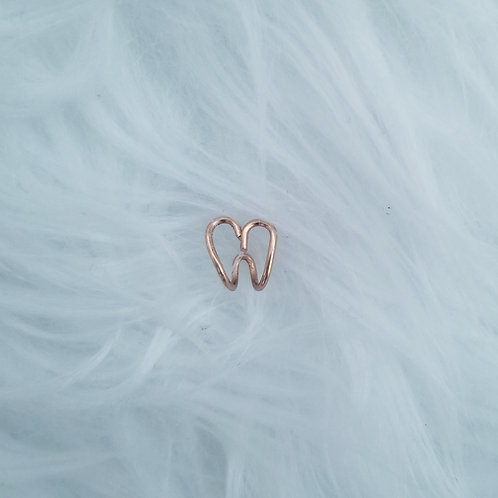 Heart Shape Clip on Nose Ring