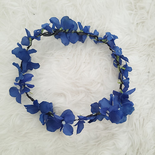 Blue Flower Crown