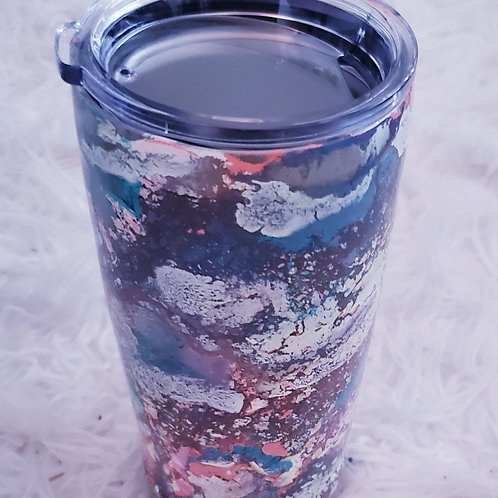 Pastel Resin Thermos Mug