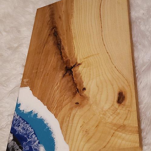 Resin Ash Cutting Board