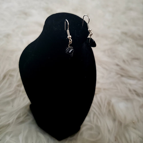 Onyx Gemstone Earrings