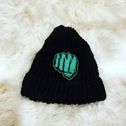 Hulk Fist Beanie Knit Hat