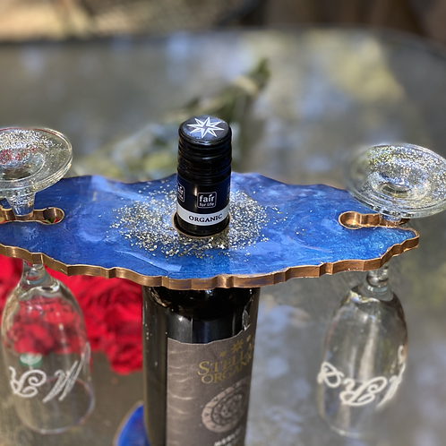 Resin Wine/ Champagne  Butler Caddy
