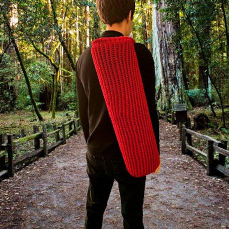 Red Yoga Mat Bag