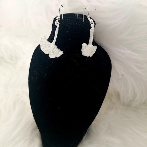 Glow Ginkgo Earrings