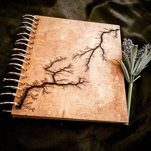 Lichtenberg blank sketch book journal