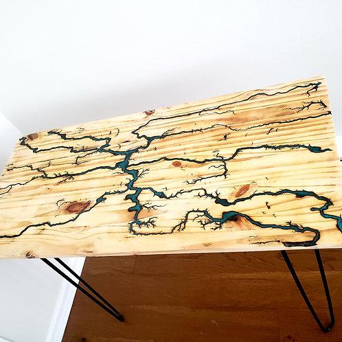 Lichtenberg Hairpin Desk Table
