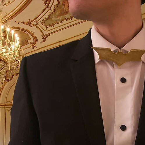 Gold Batman Bowtie