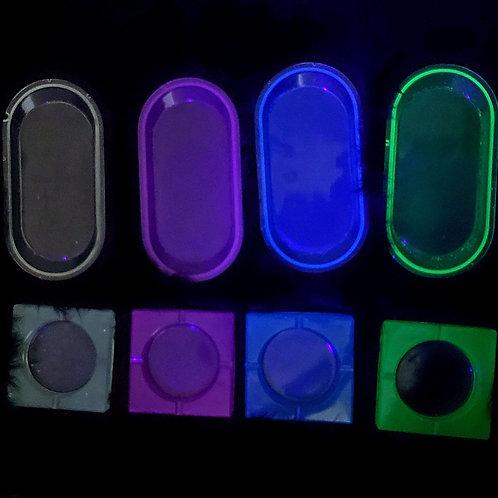 Glow Ashtrays & Rolling Trays