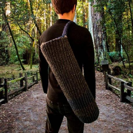 Blue Stripe Yoga Mat Bag