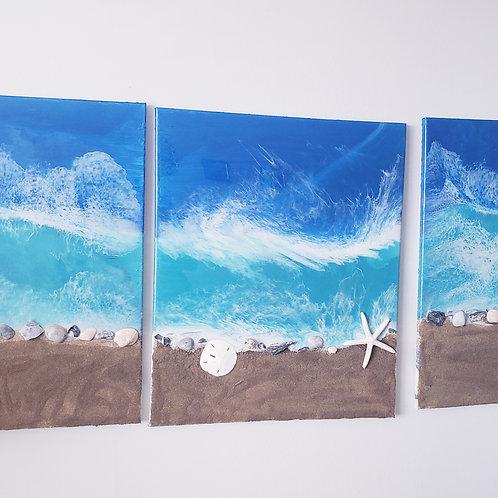 Beach Sea Shell Painting