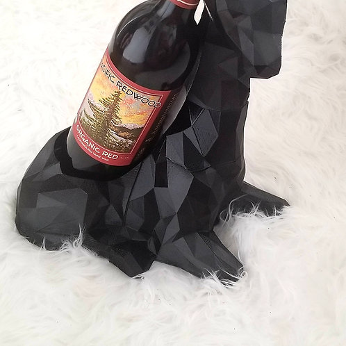 Geometric Giraffe Wine Holder
