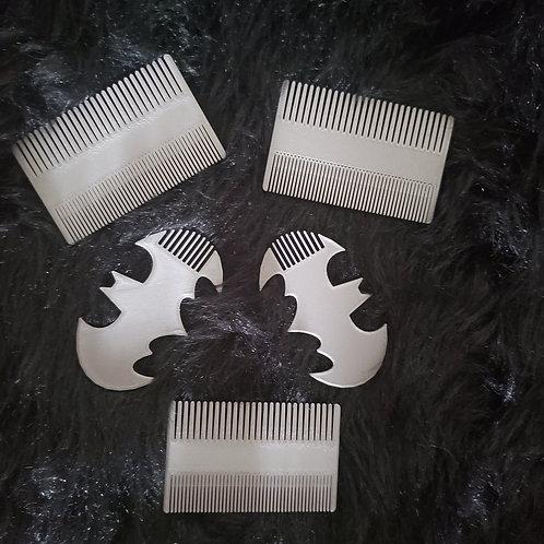 Batman Beard Comb & Double Comb