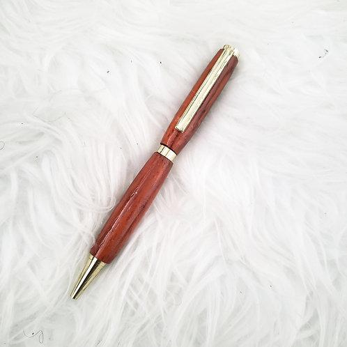 African Padauk wood pen